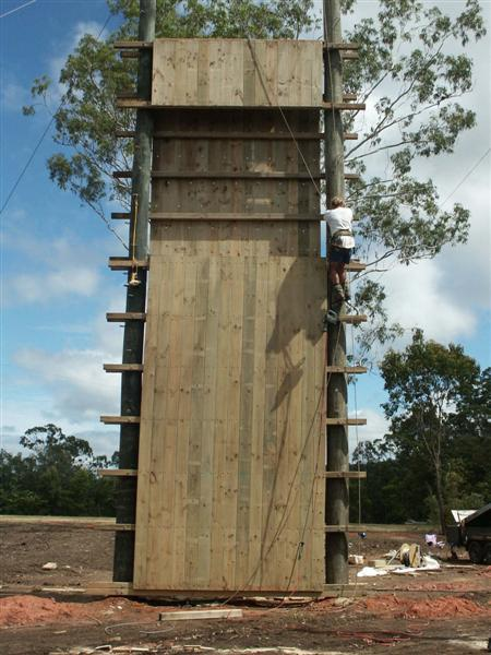 Climbing And Abseil Towers Project Adventure Australia